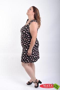 Vestido mujer tallas grandes 21484