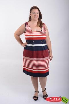 Vestido mujer tallas grandes 21512