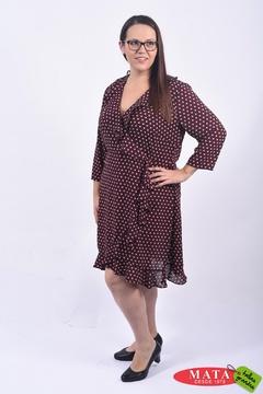 Vestido mujer tallas grandes 22086