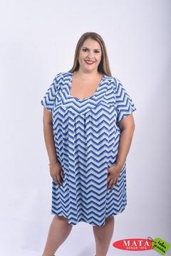 Vestido mujer tallas grandes 22209