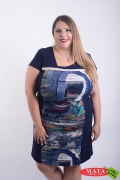 Vestido mujer tallas grandes 22543