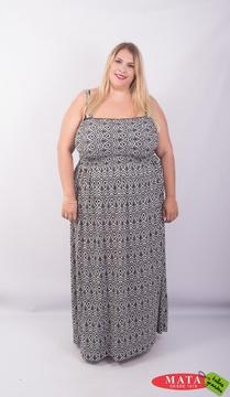 Vestido mujer tallas grandes 23582