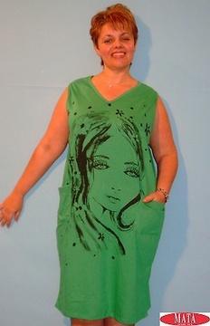 Vestido tallas grandes varios colores 12481